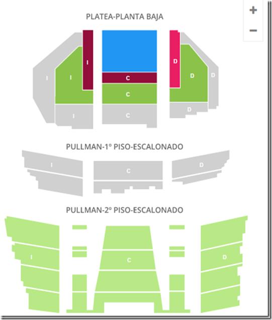 Teatro gran Rex mapa de Entradas[4]