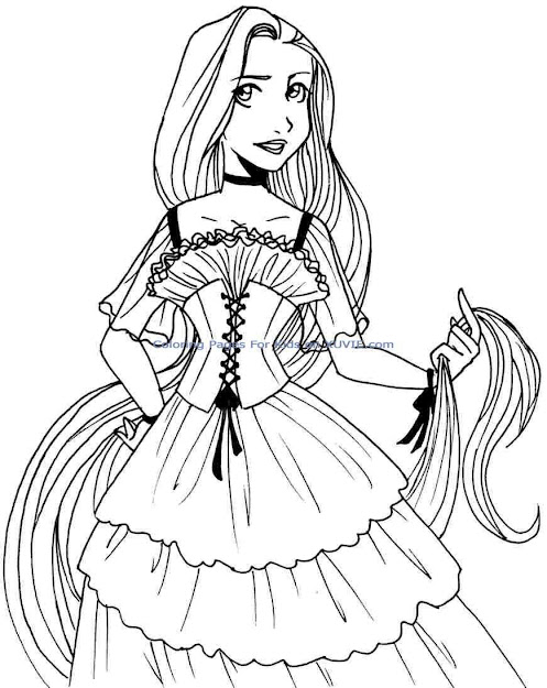 Baby Disney Princess Ariel Coloring Pages Free Printable Texas Life