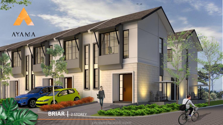 Rumah Ayama Tangerang Tipe Briar