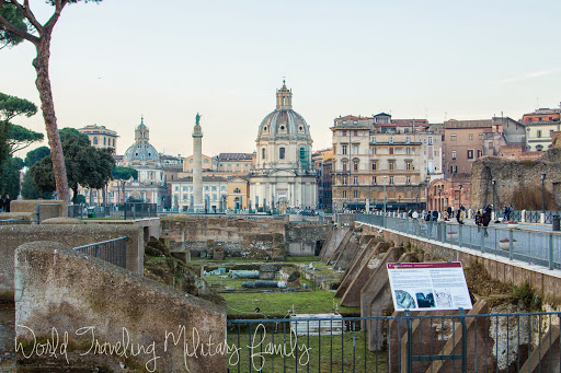 Rome, Italy - Day 1 - World Traveling Military Family