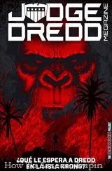 Actualización 05/11/2018: Gracias a la óctuple alianza de HTAL, CRG, Outsiders, Prix, LLSW, Gisicom, 9 Reinos Comics y AT-Comics, conocida como The Drokkin Project, les traemos el TTomo 106 – La Isla Krong (JDM 392-95) por Shinji y McGuinness. Un viejo y antropomorfico conocido de Dredd sera clave para desentrañar los misterios de esta misteriosa isla. Ladrones, estafadores, falsos revolucionarios y gente que no lee este cómic, recuerden. nada escapa al ojo de la ley, miserables.