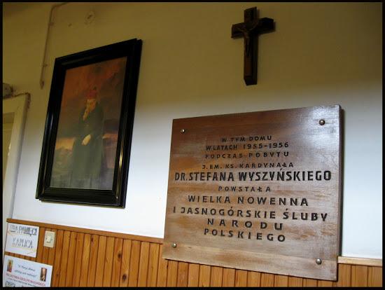 dom kardynała wyszyńskiego w komańczy