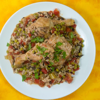 Arroz Con Pollo (Brown & Wild Rice Version)
