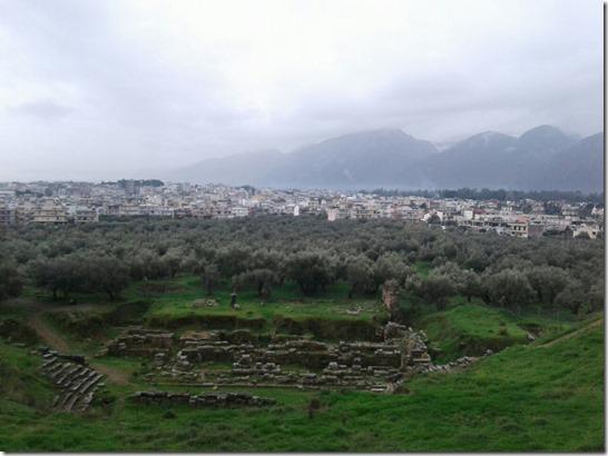 Спарта, руїни