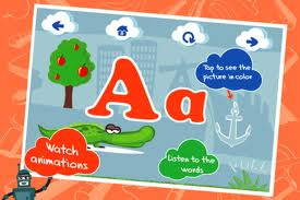 Interactive ABC Letter A
