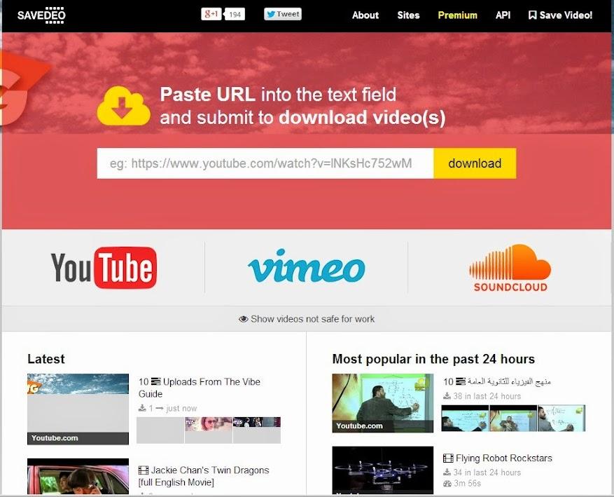 SaveDeo.com загрузка видео с Инстаграм