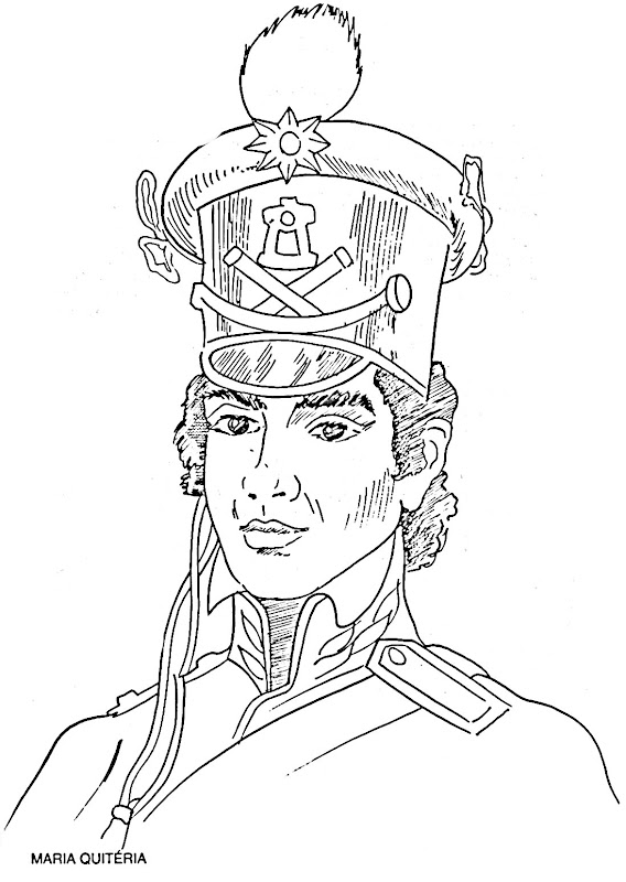 Free coloring pages of la reina isabel