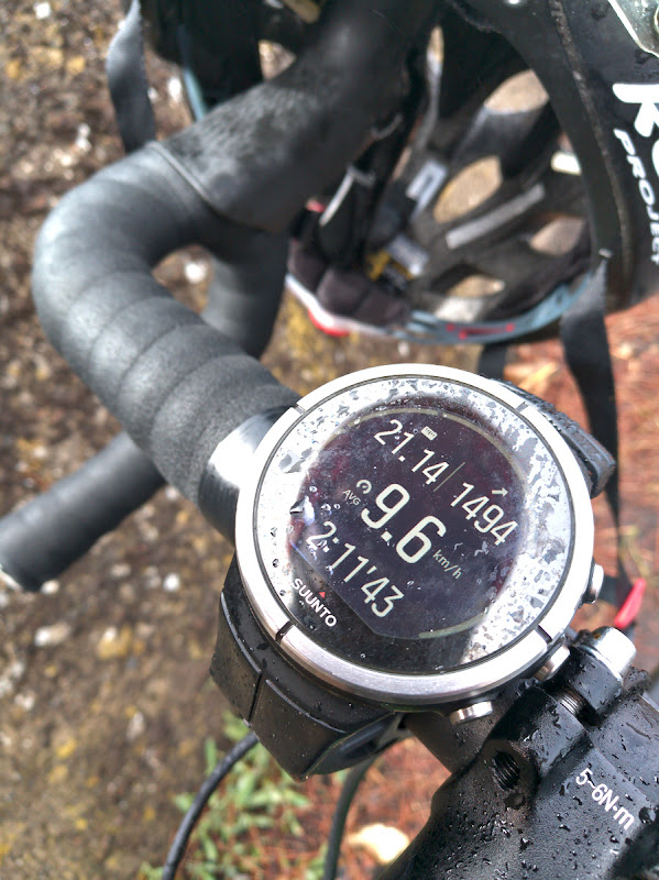 O urcare cinstita, 1500 de metri in 21 de kilometri.