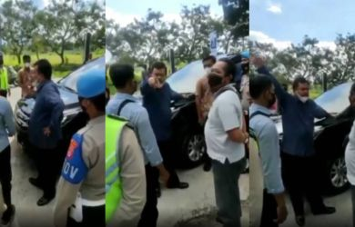 Viral Video Anggota DPRD NTB Najamudin vs Polisi di Penyekatan PPKM Darurat, Salahkan Presiden
