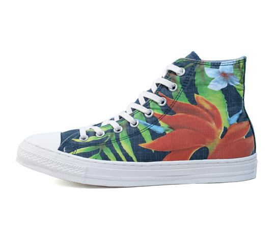*CONVERSE印花當夏:夏威夷熱帶雨林花草系列! 1