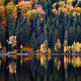 Toamna pe lacul Sf. Ana