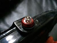 Titanium race spec bolt cbr1000rr