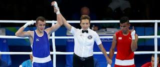 JO-2016/Boxe: l'Algérien Benbaaziz (60 kg) qualifié aux 1/8 de finale