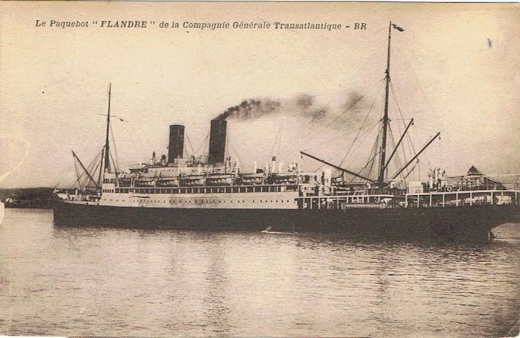 10- Vista por la laleta de babor del FLANDRE. Colección Arturo Paniagua.jpg