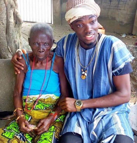 Meet 133 - Year - Old Woman Who Lives On Top Of Olumo Rock , Abeokuta (Photos)