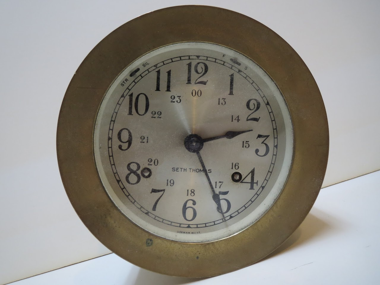 Seth Thomas Nautical Clock