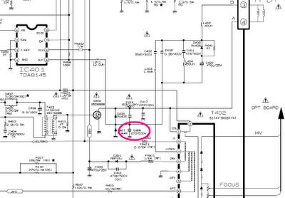 21FU1RK capacitor abierto