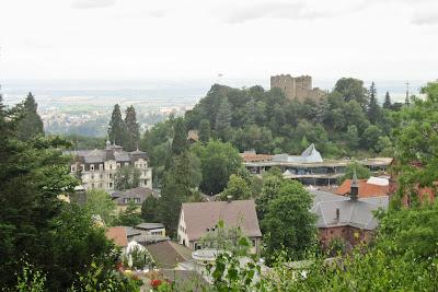 Römerbad, Burg und Kurhaus