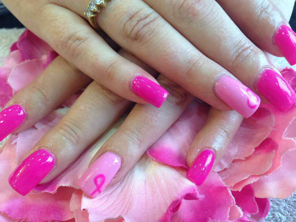 40 Top Bow Nail Designs & Pink Acrylic 2018 – Page 8 – Daneloo