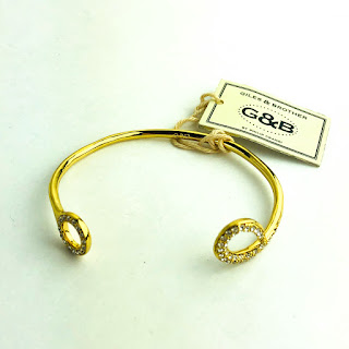 Giles & Brother Gold-toned Cuff