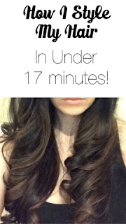 Tyme Iron - How I Style My Hair In Under 17 Minutes
