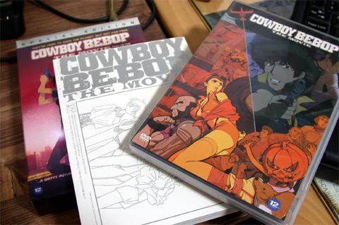 Cowboy Bebop DVD