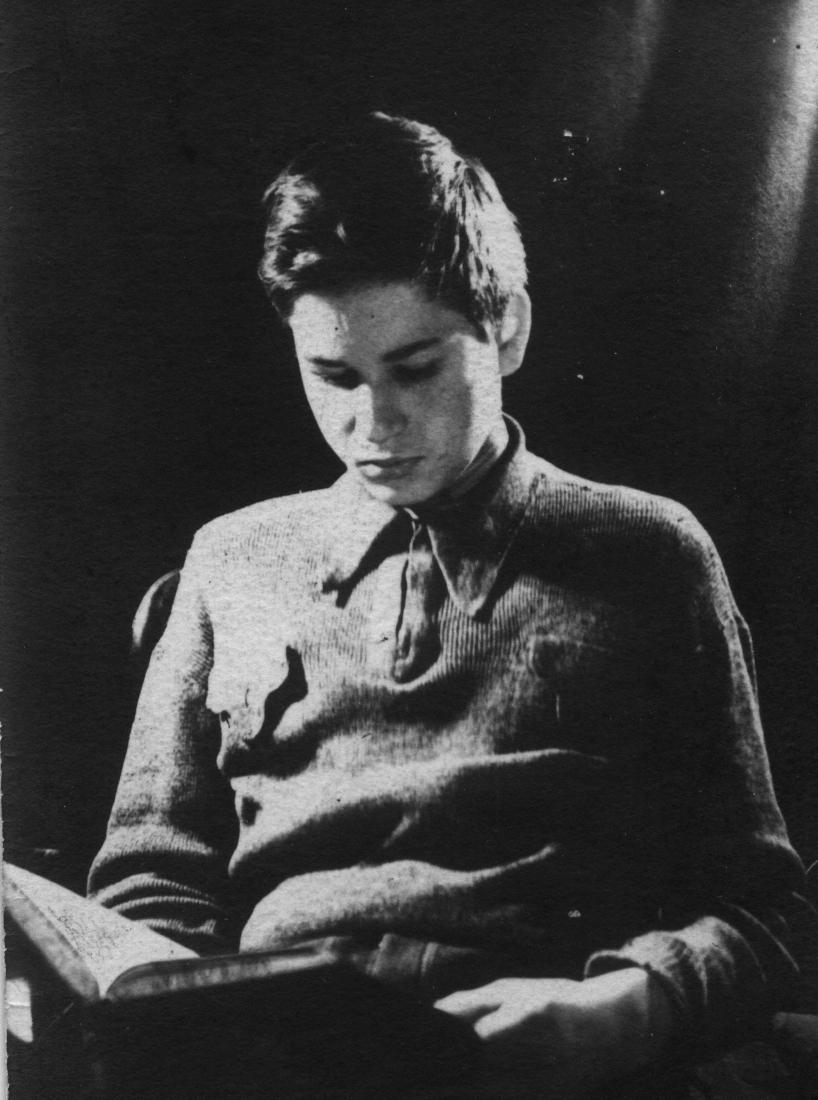 16 letni Adam na Wilczej, Warszawa zima 1943/44