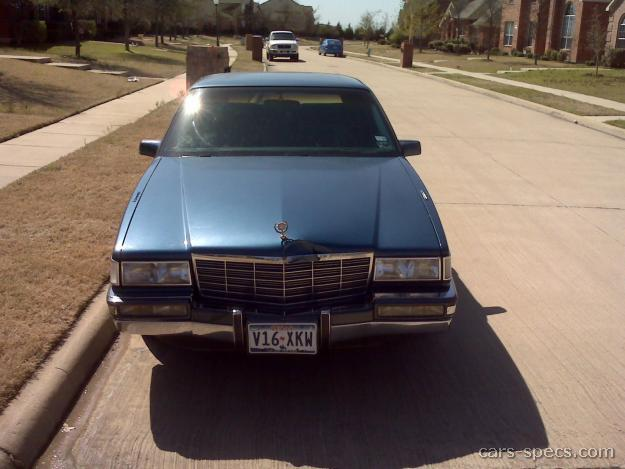 1991 cadillac deville sedan specifications pictures prices. Black Bedroom Furniture Sets. Home Design Ideas