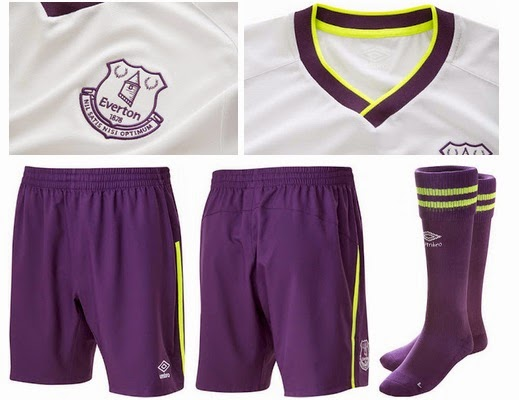 new everton 3rd kits