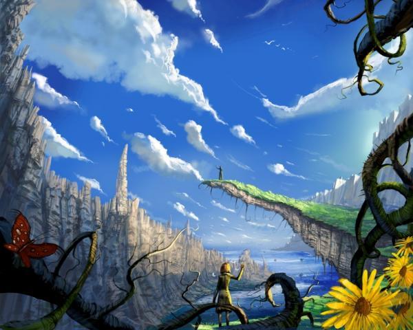 Land Of Rocks, Magical Landscapes 1