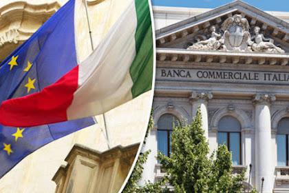 Mulai, Kepanikan Perbankan Italia. Mesin-mesin ATM Kosong.