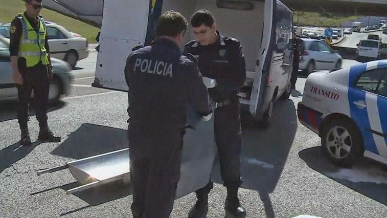 Ex-presidiário atropelado enquanto estava deitado numa rampa de acesso a garagens