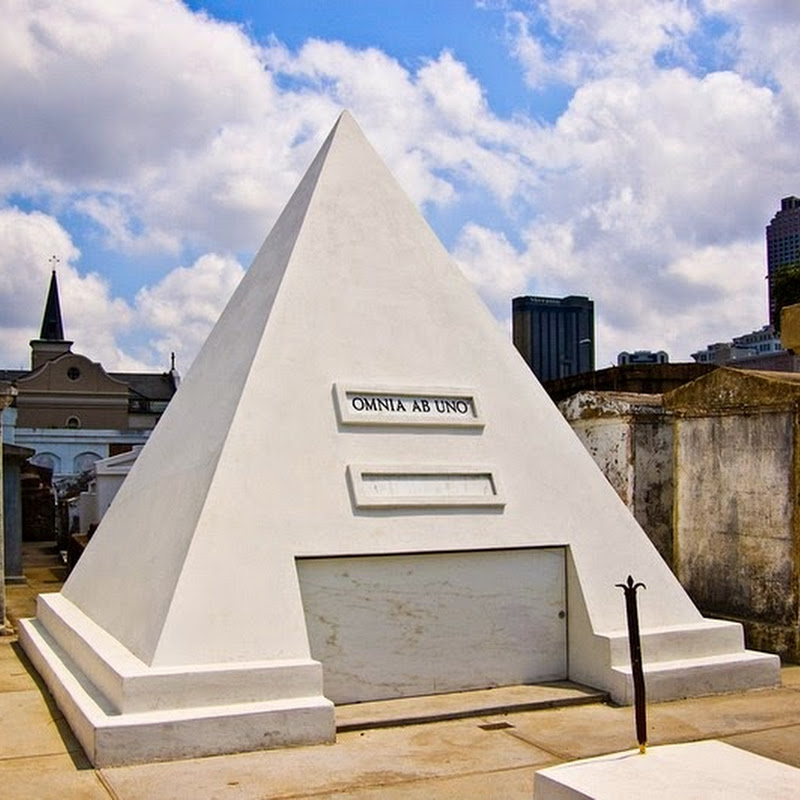 The Pyramid Tomb of Nicholas Cage
