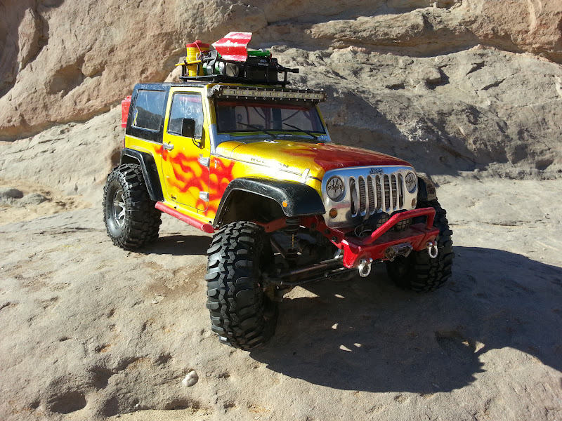 Trump's just another Axial Jeep Rubicon kit build. - Page ...