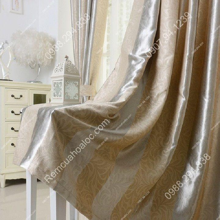 rèm cửa đẹp hà nội một màu kép  4