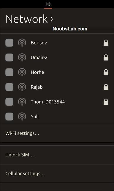 Ubuntu Touch sim