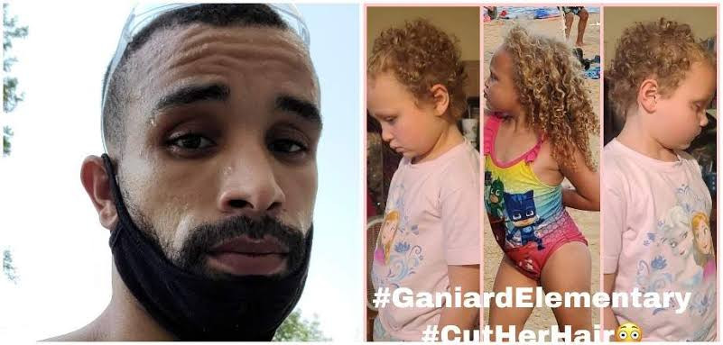 Father files $1M lawsuit after teacher cuts his 7 year old Bi-racial daughter's hair without his permission
