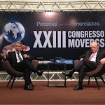 Em Bento Gonçalves, no Congresso da MOVERGS, debatendo o atual cenário econômico, com o ex-ministro Mailson da Nóbrega.