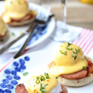 Korean Eggs Benedict.