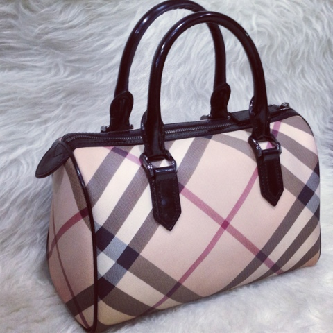 GRACIE HOUR  (N A) Burberry Nova Speedy Bag a943b91c0eaea