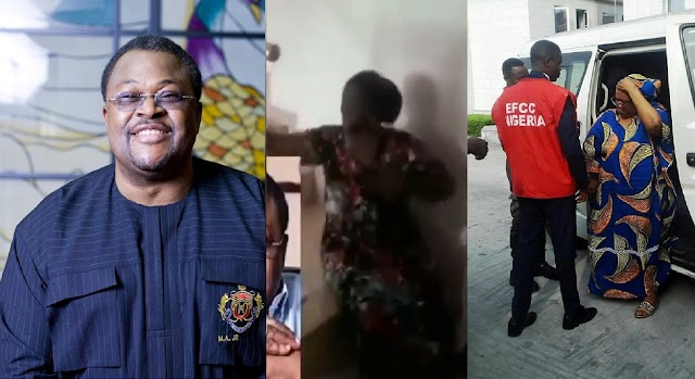 Mike Adenuga's alleged side chic weeps bitterly after he sends EFCC after her for defrauding him N130 Million [Video]