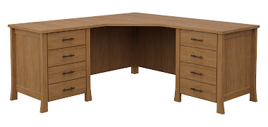 Palermo L-Shaped Desk