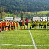 Fußballspiel Kinder gegen Unternberg