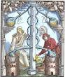 Woodcut From Hieronymus Braunschweig Das Buch Zu Distillieren Strassburg 1519
