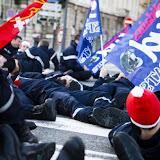 Manifestation à Lyon contre le projet de la direction