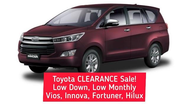 Toyota Innova CLEARANCE Sale!