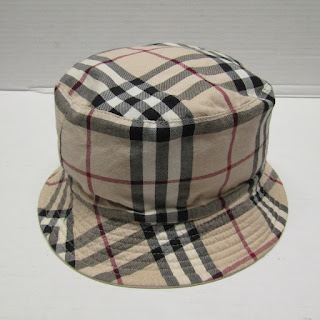 Burberry London Reversible Bucket Hat