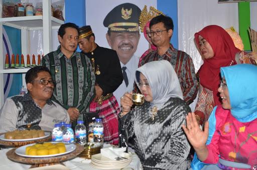 Wakil Bupati Sinjai Hadiri Sulsel Expo 2018
