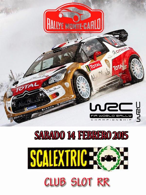 Club Scalextric-Slot RR - Portal CARTELRALLY14FEBRERO