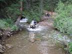 Lovin' the water crossings!